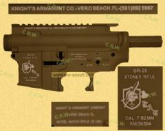 M4 Metal Body - SR25 Tan